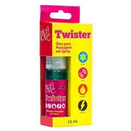 Twister excitante Jatos 15ml Soft Love