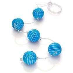 Cordão Tailândes Bolas Grandes com cordão de silicone (com 5 esferas) - várias cores