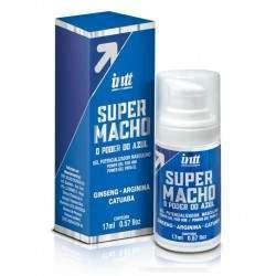 INTT Gel potencializador masculino SUPER MACHO - 17 ML - O Poder do Azul