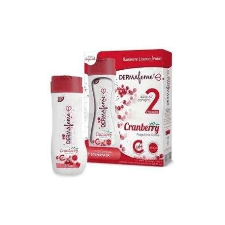 Kit 2 frascos Sabonete Íntimo Dermafeme Floral 200ml - CIMED