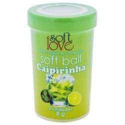 Soft Ball Beijável Hot com 2 unidades - Soft Love - CAIPIRINHA