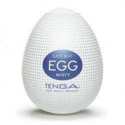 Tenga Egg - MISTY (Ovo masturbador com textura e lubrificante siliconado)