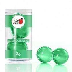 Bolinhas 2 unidades grande - Verde: CK One (óleo)