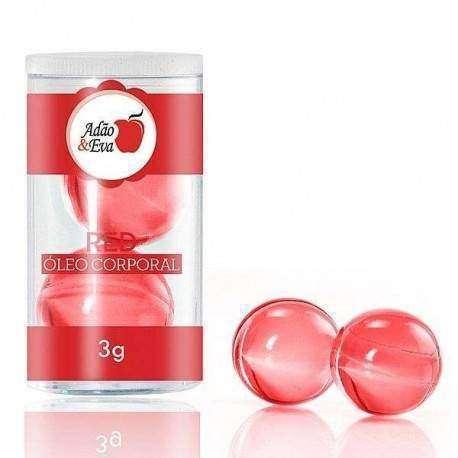 Bolinhas 2 unidades grande - Vermelho: Dolce Gabana (óleo)