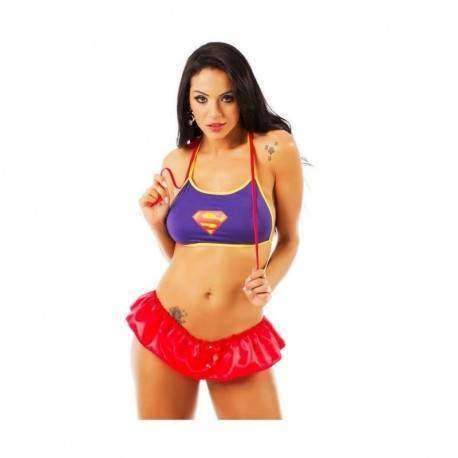 Mini Fantasia Super Girl - Pimenta Sexy