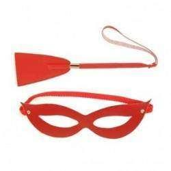 Máscara e chibatinha Tiazinha cor Vermelha